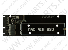 Переходник Apple MacBook Air A1369/70 SSD к SATA 22pin