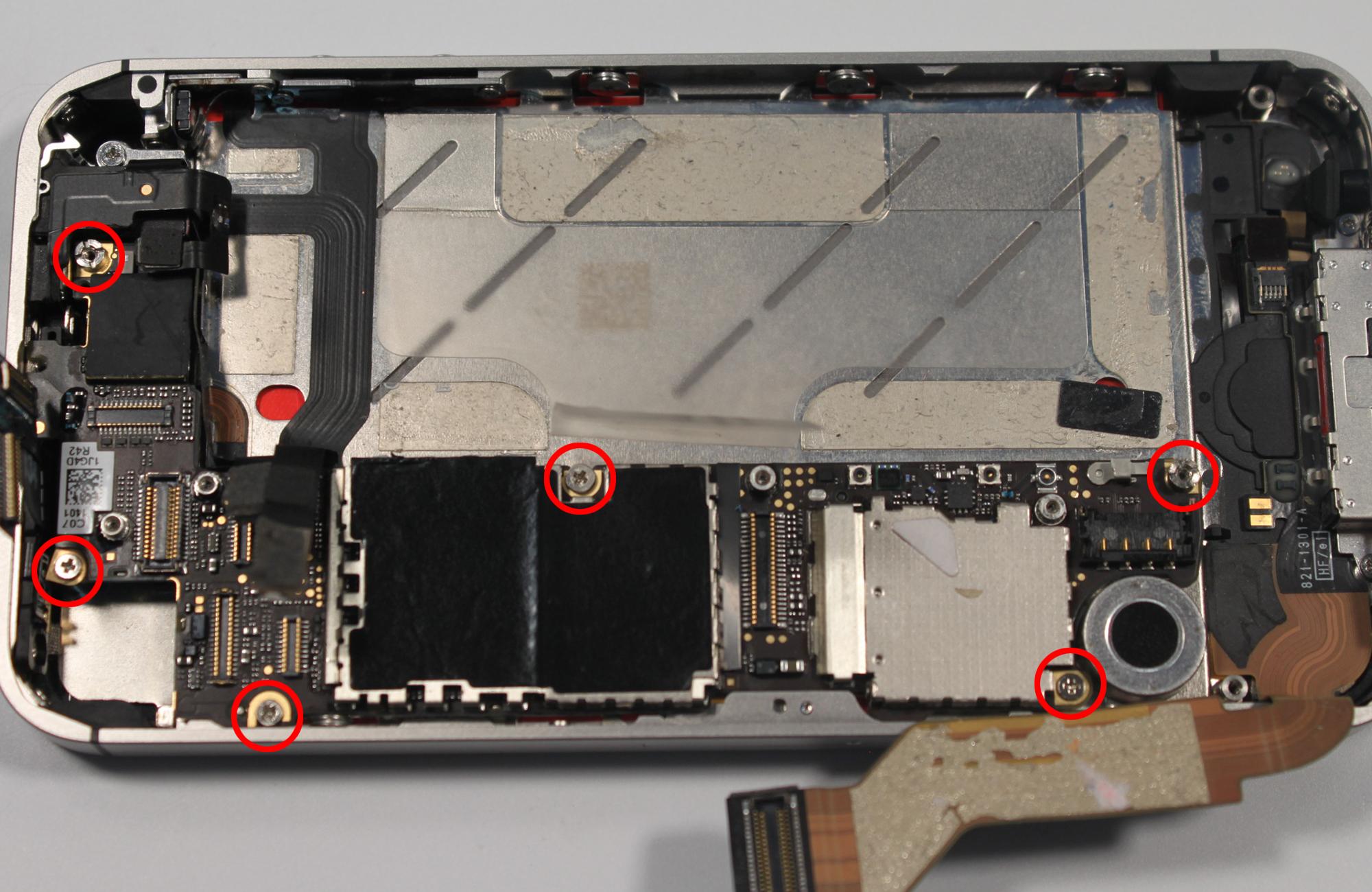 Iphone 4s схема фото